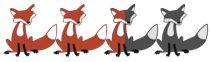 2.5 foxes