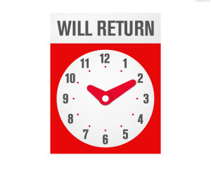 will-return-sign
