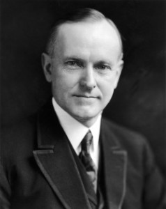 UNITED STATES - AUGUST 03: Official Portrait Of Calvin Coolidge On August 3, 1923, Then Vice President Who Succeeded Harding As President. He Was Elected In 1925. (Photo by Keystone-France/Gamma-Keystone via Getty Images)