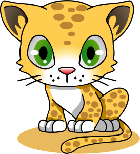 Cartoon-Leopard